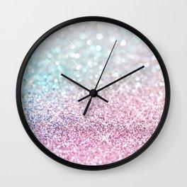 Pastel Winter Wall Clock