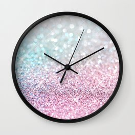 Pastel Winter Wall Clock