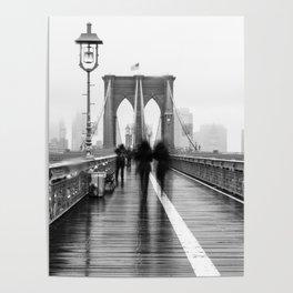 Brooklyn Bridge Walk Poster
