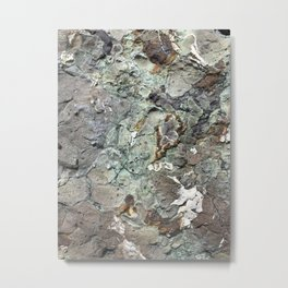 Sea of Rock Metal Print