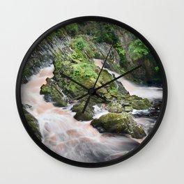 Rhaeadr y Graig Lwyd or Conwy falls Wall Clock