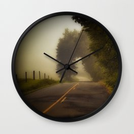 A Little Trip to Long Ago and Faraway Wall Clock