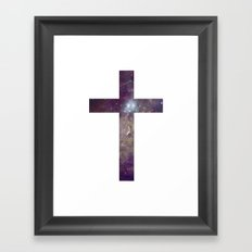 Have Faith in Your Future. Framed Art Print