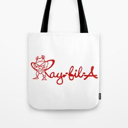 Ray Fillet's Ray-fil-A Tote Bag