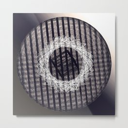 Sphere Box Metal Print