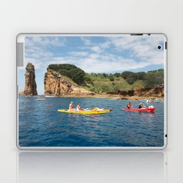 Kayaking in Azores Laptop & iPad Skin