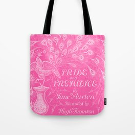 Pride and Prejudice - Hot Pink Tote Bag