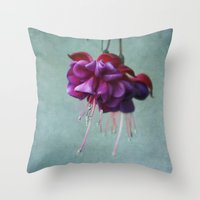 dancing Throw Pillows featuring Dancing by Kim Hojnacki Photography
