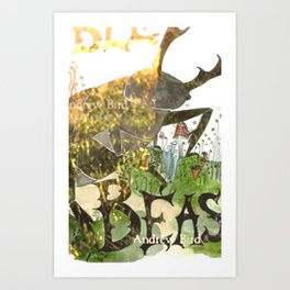 Andrew Bird Art Print