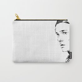 Isak b&w Carry-All Pouch