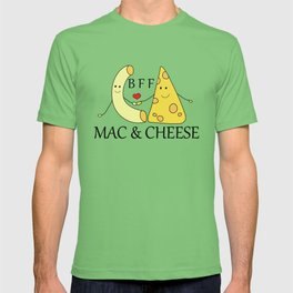 Mac & Cheese Best Friends Forever T-shirt