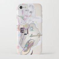 hello beautiful iPhone & iPod Cases featuring Hello, beautiful! by Olivia Tse (OliviaOliveTea)