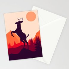 Wake up of Deer Stationery Cards