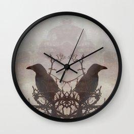 Hugin & Munin Wall Clock