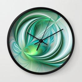 Dynamics Fractal Art Wall Clock