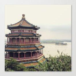 Summer Palace, Beijing China Canvas Print