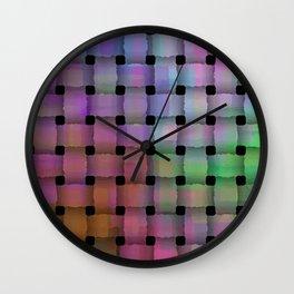 Weave#1 Wall Clock