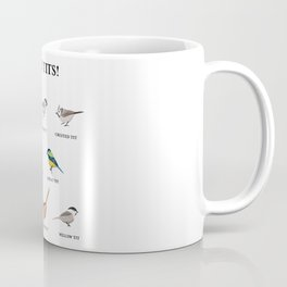 Nice tits! Funny Birdwatching Bird Gift Coffee Mug