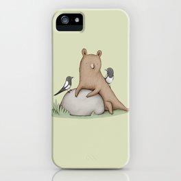 Bear & Birds iPhone Case