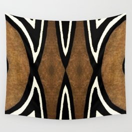 Cocoa Brown Wall Tapestry