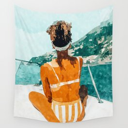 Solo Traveler Wall Tapestry