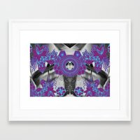 geode Framed Art Prints featuring Geode 2 by michiko_design