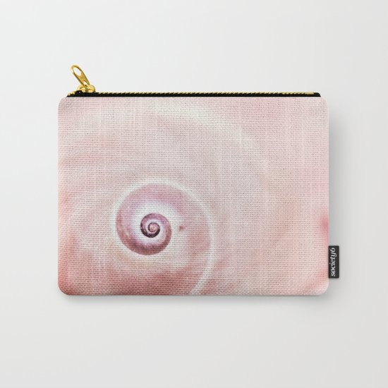 Dream of last summer II - Snail Shell in pink Carry-All Pouch
