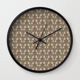 William Morris Pimpernel Wall Clock