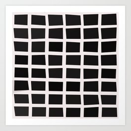 SQUARE.Grid Art Print