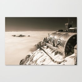 A place in the clouds Canvas Print