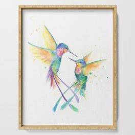 Hopeful Hummingbirds Serving Tray