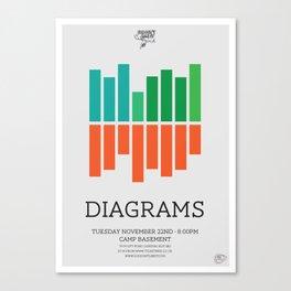 Diagrams Canvas Print