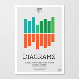 Diagrams Canvas Print