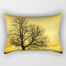 A glow over Sheriff Hutton Rectangular Pillow