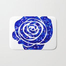 roses are blue Bath Mat