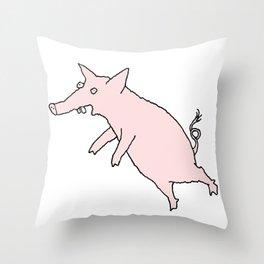 Pig Love Throw Pillow