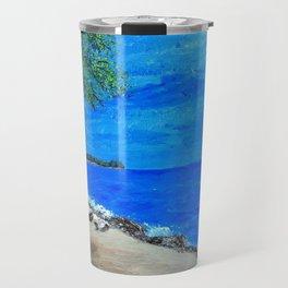 Corner of the lake Travel Mug