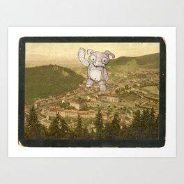Karlsbader Cookie Monster 1750 Art Print