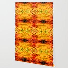 Orange Firethorn Quad III by Chris Sparks Wallpaper