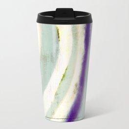 rustic vintage painting print, color block, bright colors, geometric print, modern painting Travel Mug