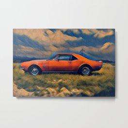 1967 Camaro SS soft glow Metal Print