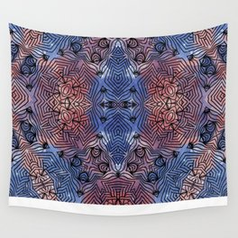 Rose Quartz & Serenity Wall Tapestry