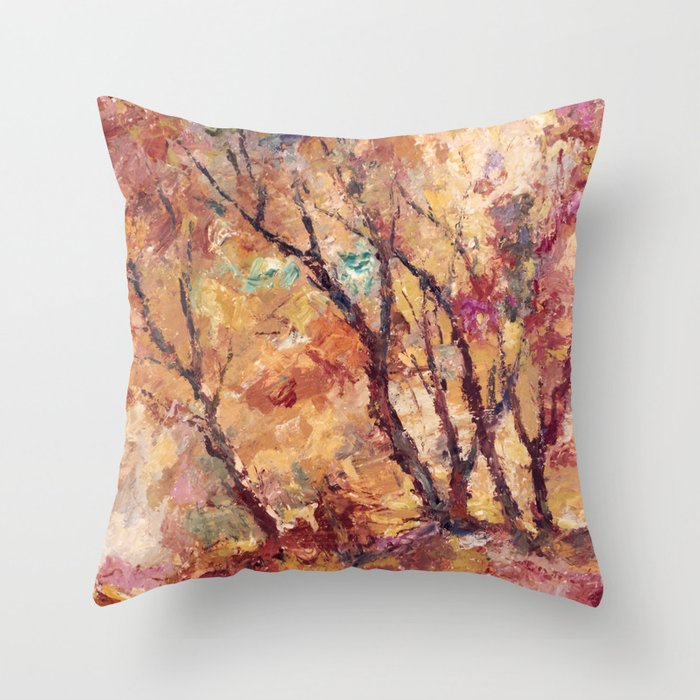 autumn 2 Throw Pillow