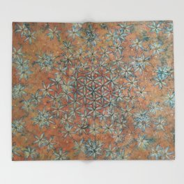 TAGGART SPRING TRANSFORMATION Throw Blanket