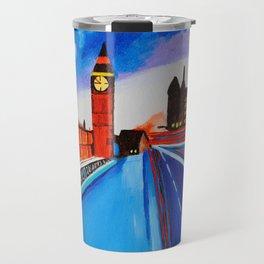 London At Night Travel Mug