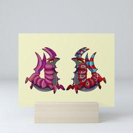 Scolipede Mini Art Print