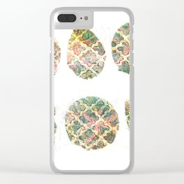 Waffles Clear iPhone Case