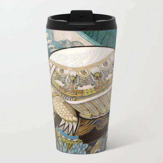 Turtle Metal Travel Mug