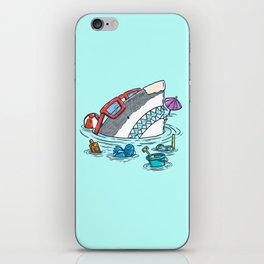 Beach Party Shark iPhone Skin