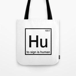 Hu Tote Bag